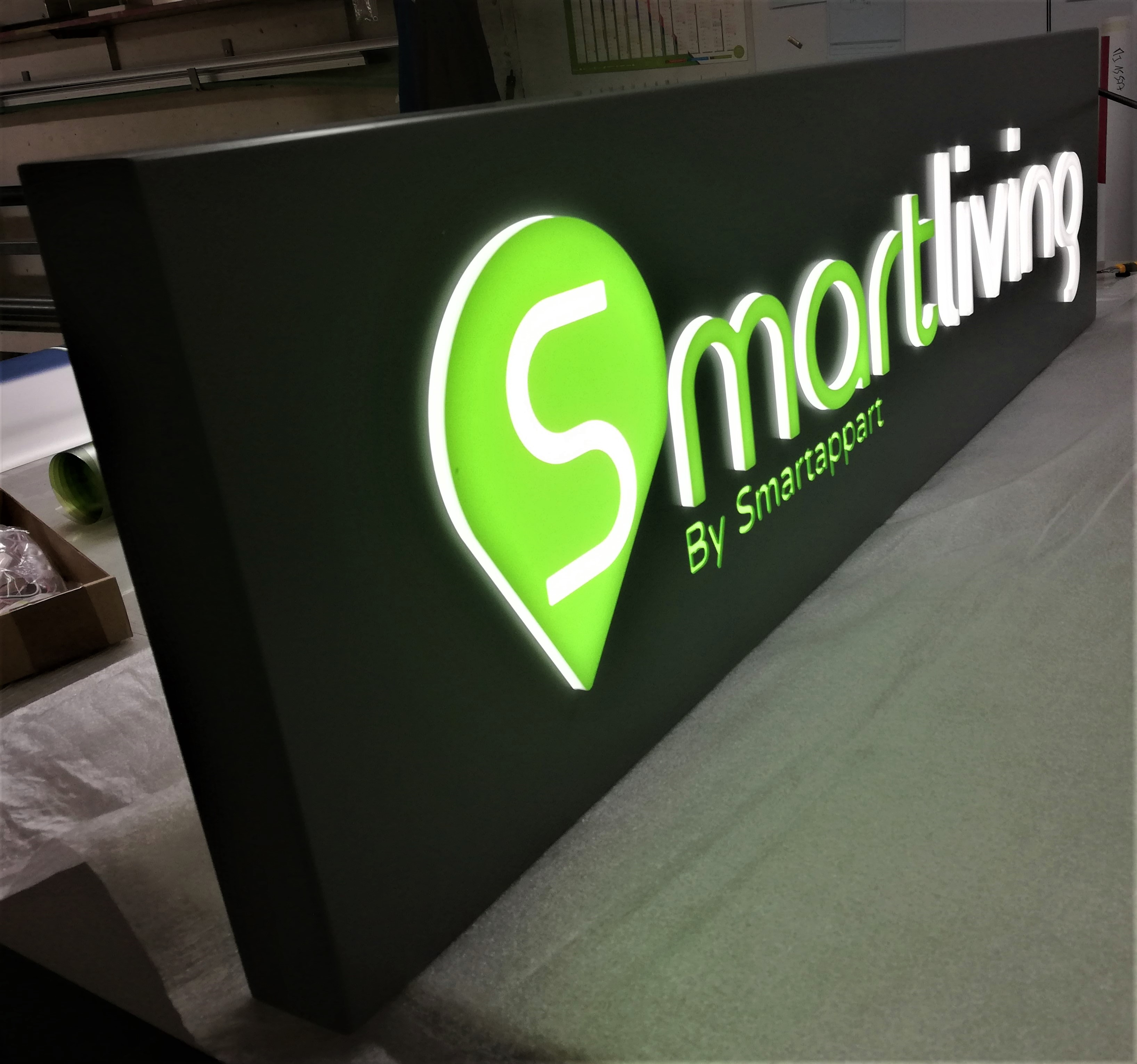 Caisson lumineux SmartLiving